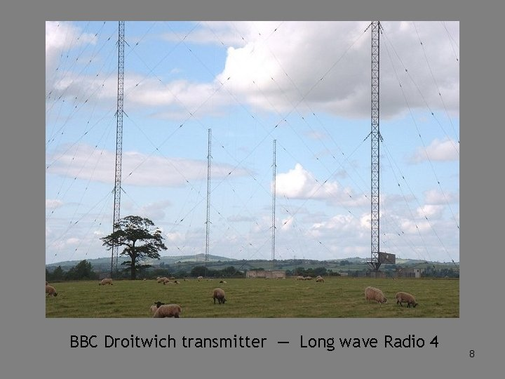 BBC Droitwich transmitter — Long wave Radio 4 8