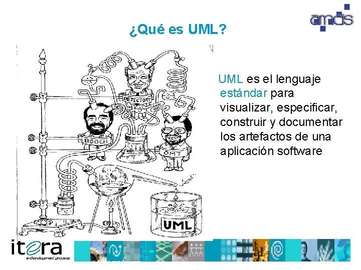 ¿Qué es UML? UML es el lenguaje estándar para visualizar, especificar, construir y documentar