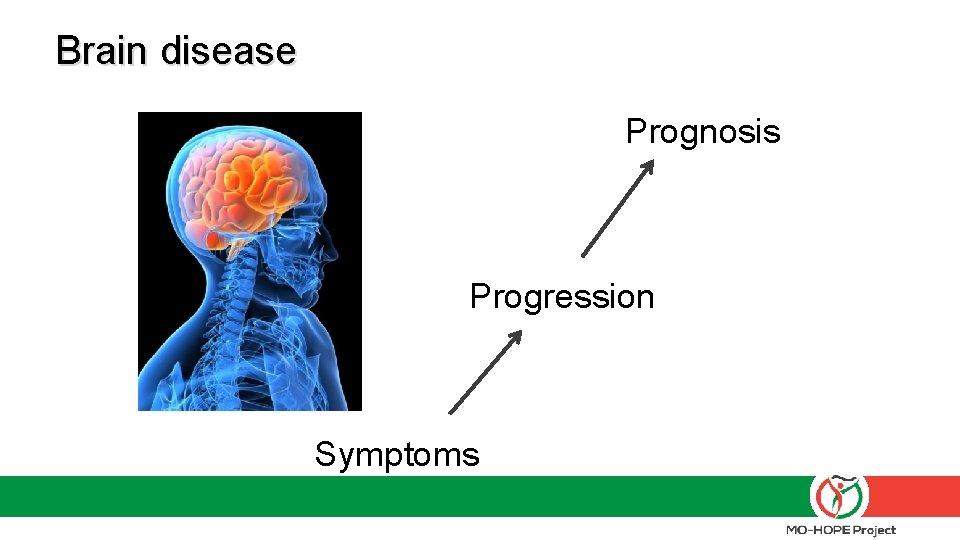 Brain disease Prognosis Progression Symptoms