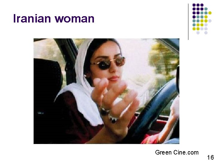 Iranian woman Green Cine. com 16