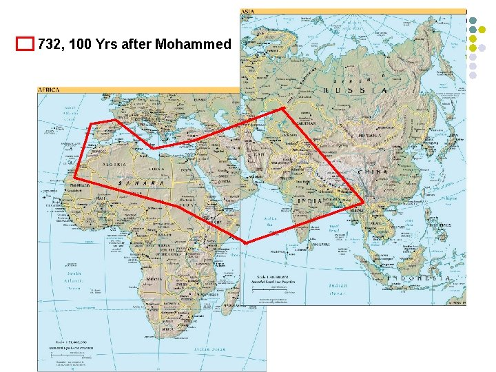 732, 100 Yrs after Mohammed