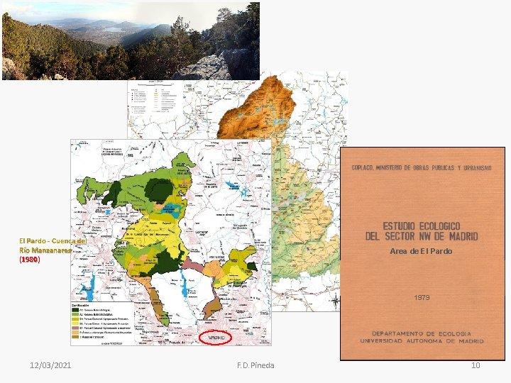 El Pardo - Cuenca del Río Manzanares (1980) Area de El Pardo 1979 12/03/2021