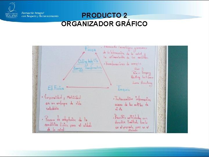PRODUCTO 2 ORGANIZADOR GRÁFICO