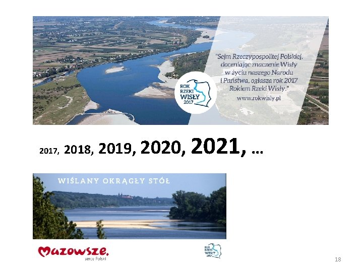 2017, 2018, 2019, 2020, 2021, … 18