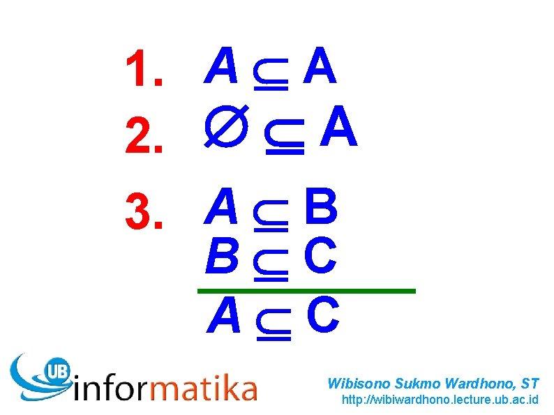 1. A A 2. A 3. A B B C A C Wibisono Sukmo