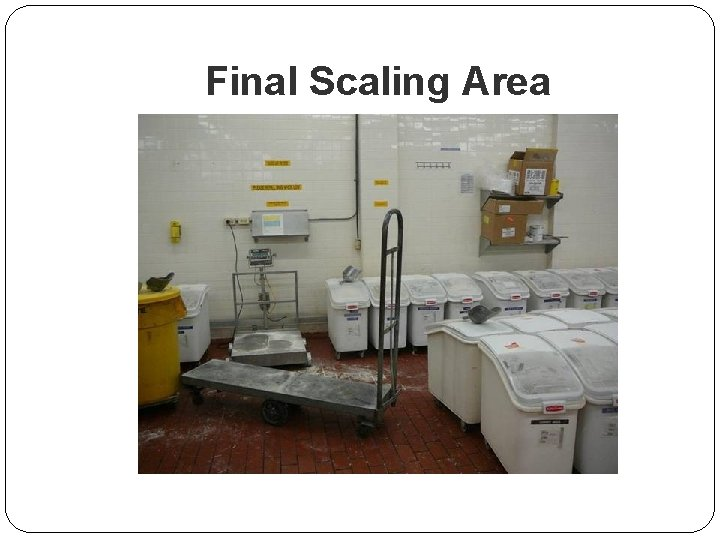 Final Scaling Area