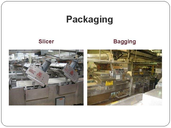 Packaging Slicer Bagging