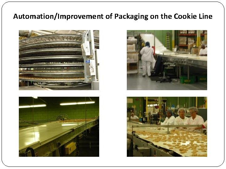 Automation/Improvement of Packaging on the Cookie Line