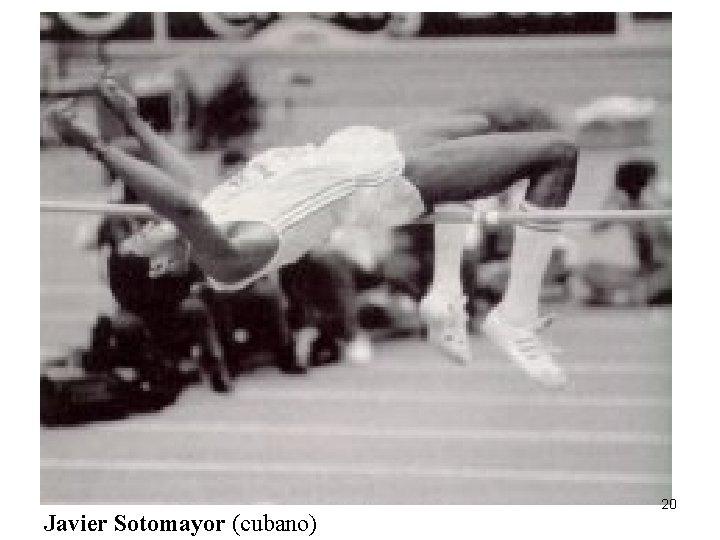 Javier Sotomayor (cubano) 20