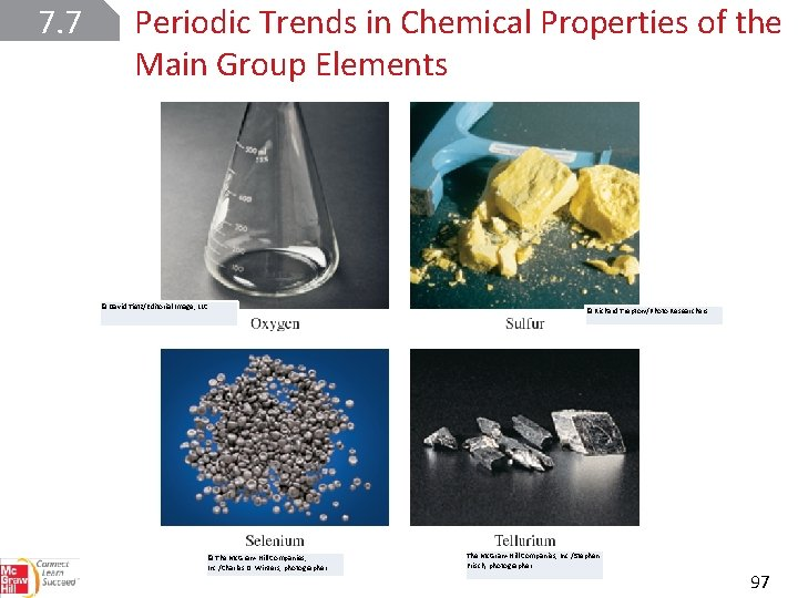 7. 7 Periodic Trends in Chemical Properties of the Main Group Elements © David
