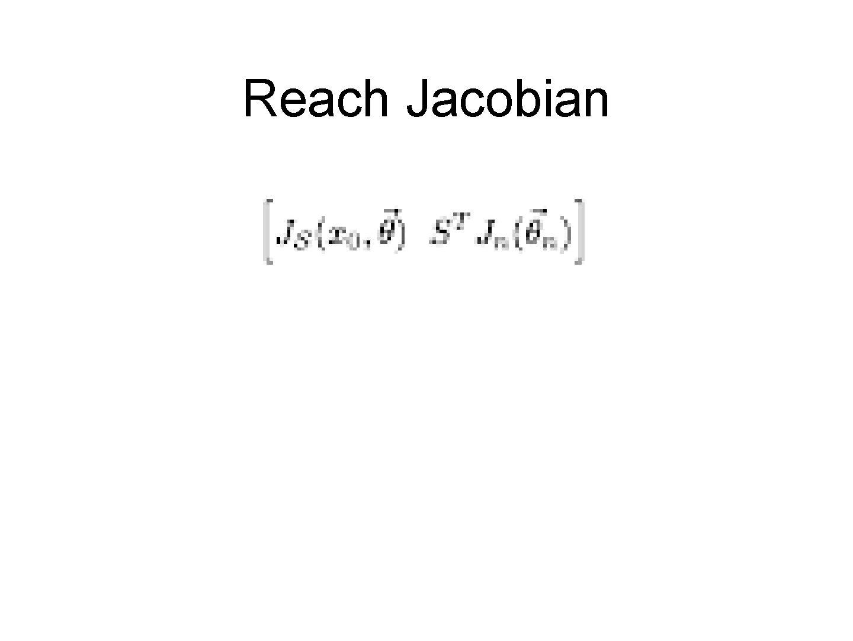 Reach Jacobian