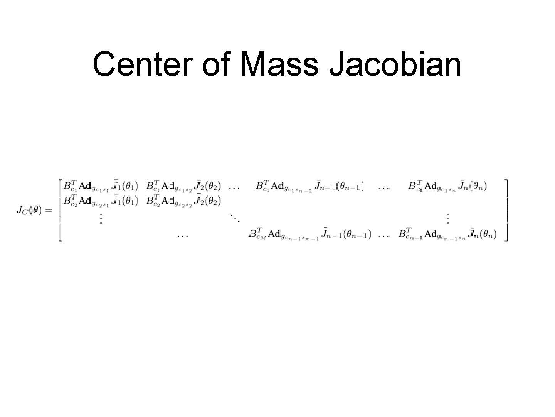 Center of Mass Jacobian
