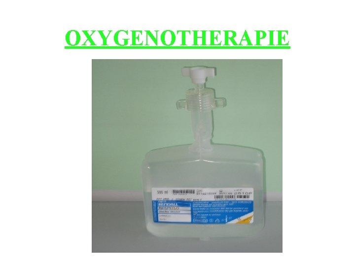 OXYGENOTHERAPIE