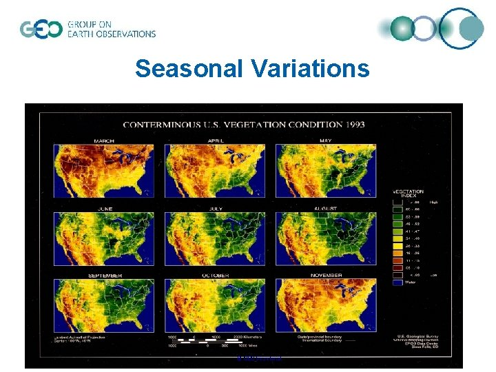 Seasonal Variations © GEO Secretariat