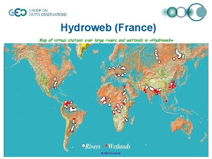 Hydroweb (France) © GEO Secretariat