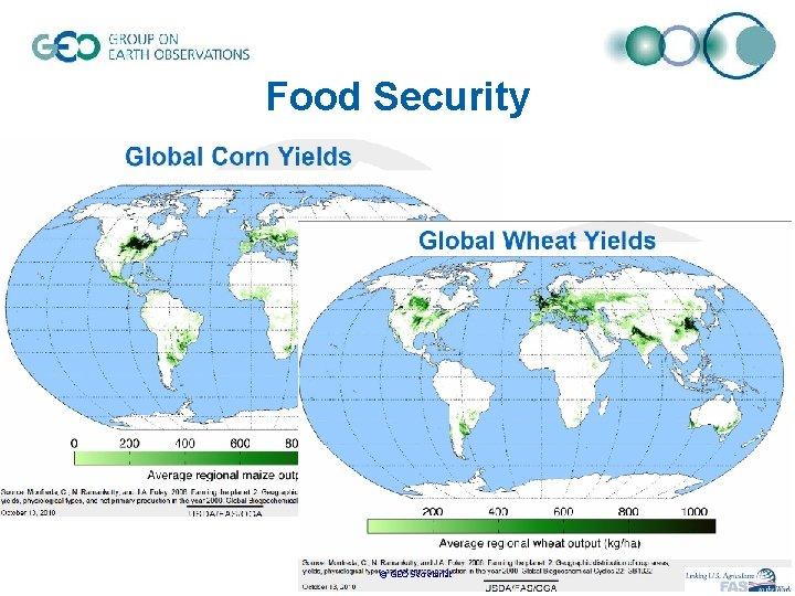 Food Security © GEO Secretariat
