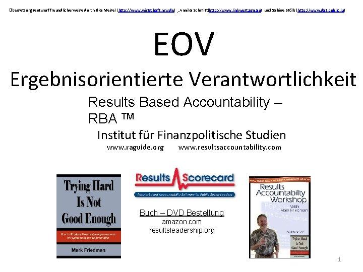 Übersetzungsentwurf freundlicherweise durch Ilka Meisel (http: //www. wirtschaft. nrw. de) , Annika Schmitt(http: //www.