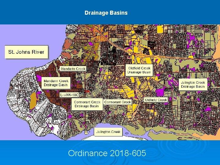 Drainage Basins Ordinance 2018 -605