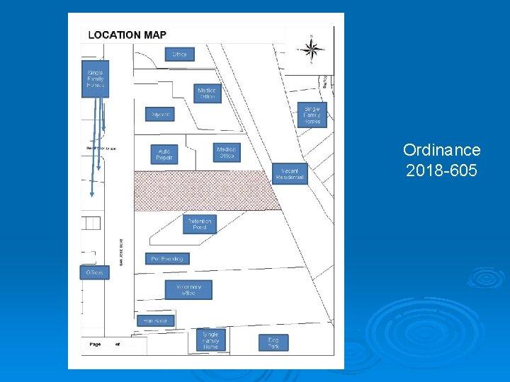 Ordinance 2018 -605