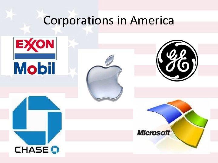 Corporations in America