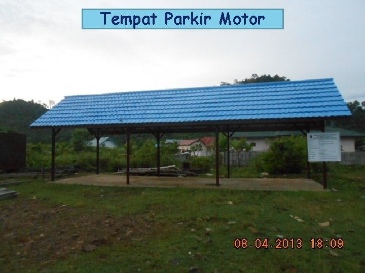 Tempat Parkir Motor LOGO