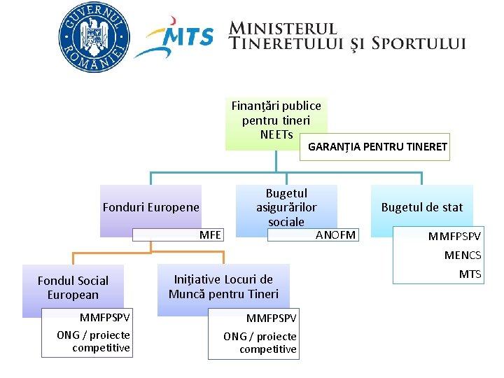 Finanțări publice pentru tineri NEETs GARANȚIA PENTRU TINERET Fonduri Europene MFE Fondul Social European