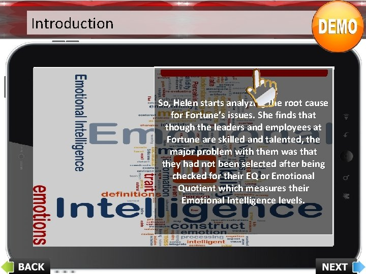 Introduction So, Helen starts analyzing the root cause for Fortune's issues. She finds that