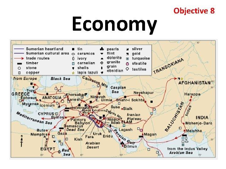 Economy Objective 8