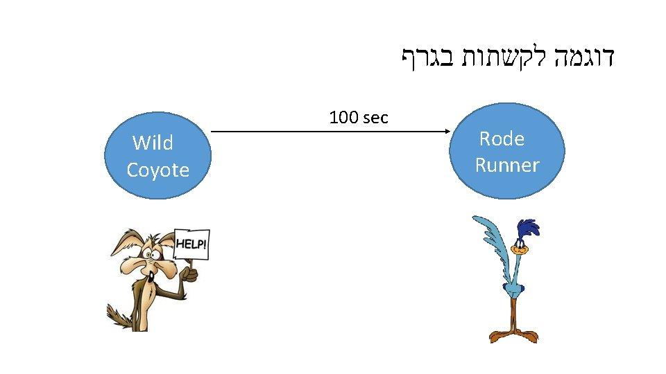 דוגמה לקשתות בגרף Wild Coyote 100 sec Rode Runner