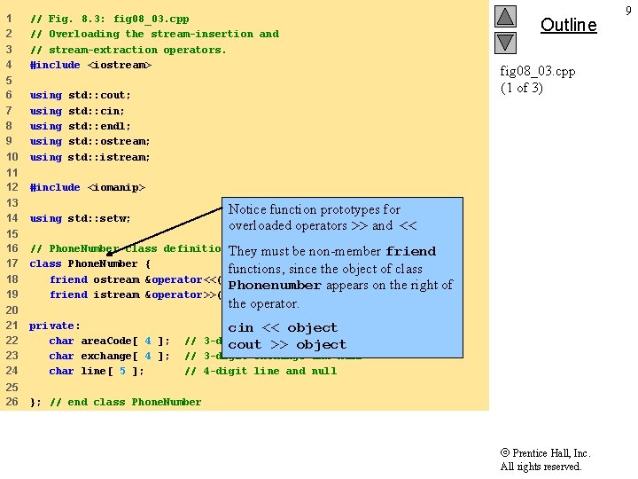 1 2 3 4 // Fig. 8. 3: fig 08_03. cpp // Overloading the