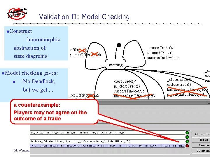 & ationing d i l a r V cto Refa n Validation II: Model
