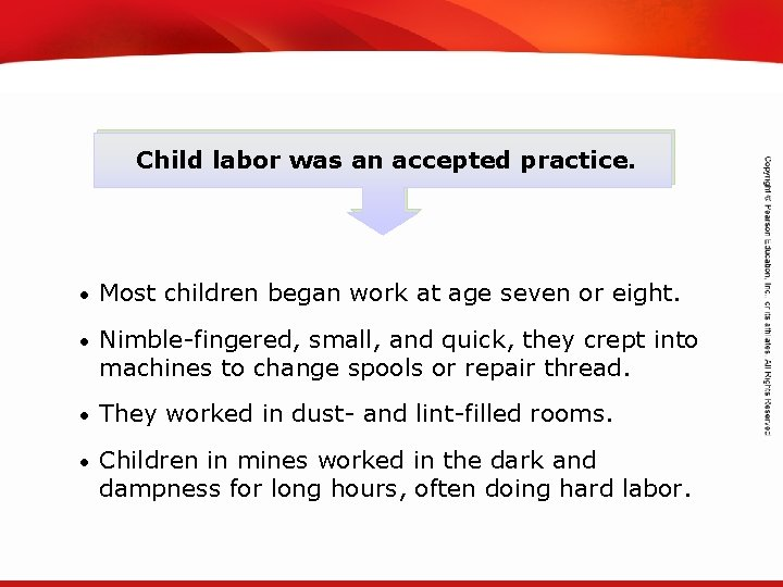 TEKS 8 C: Calculate percent composition and empirical and molecular formulas. Child labor was