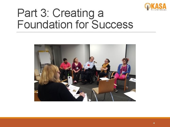 Part 3: Creating a Foundation for Success 4