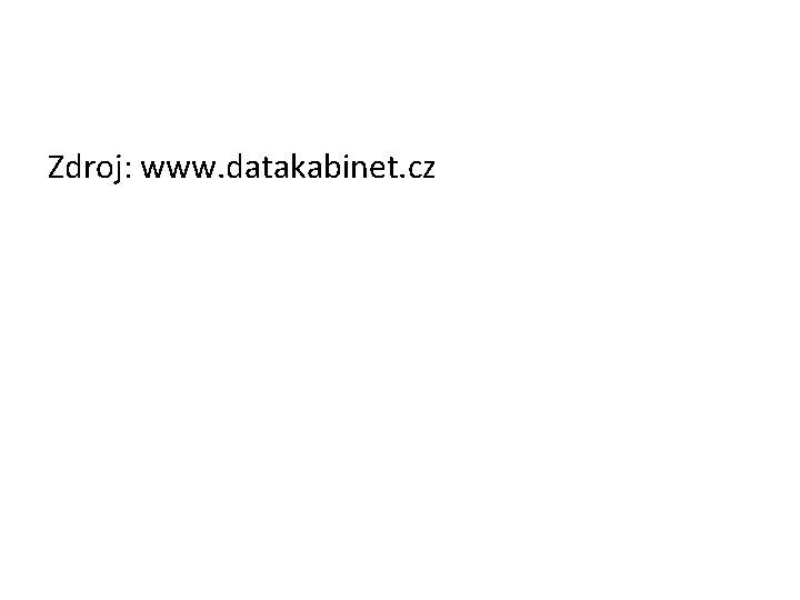 Zdroj: www. datakabinet. cz