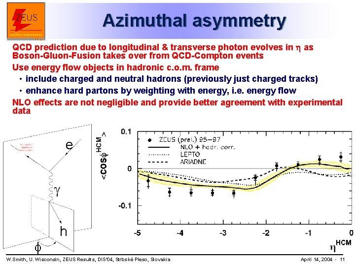 Azimuthal asymmetry QCD prediction due to longitudinal & transverse photon evolves in as Boson-Gluon-Fusion
