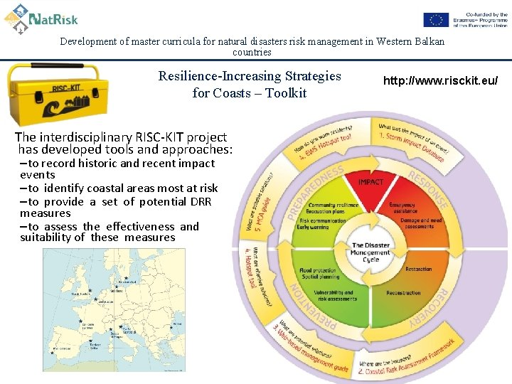 Development of master curricula for natural disasters risk management in Western Balkan countries Resilience-Increasing