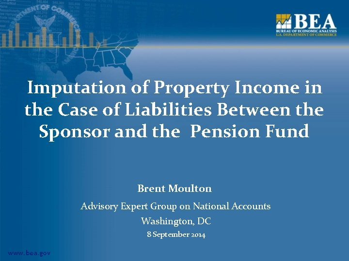Imputation of Property Income in the Case of Liabilities Between the Sponsor and the