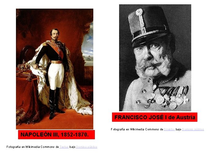 FRANCISCO JOSÉ I de Austria Fotografía en Wikimedia Commons de Direktor bajo Dominio público