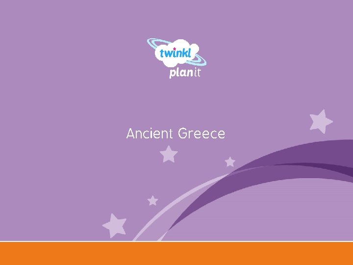 Ancient Greece Year One