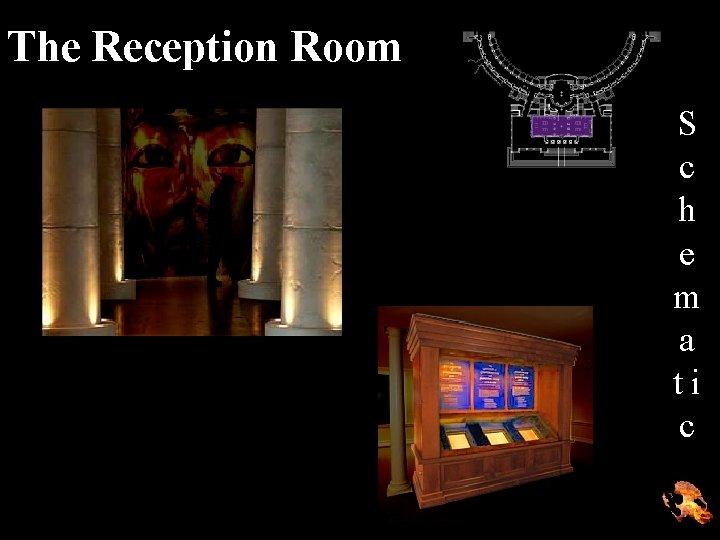 The Reception Room S c h e m a ti c