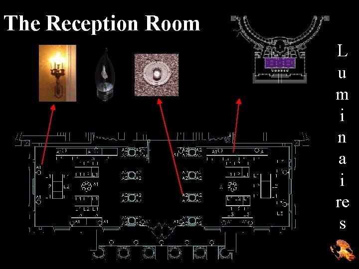 The Reception Room L u m i n a i re s