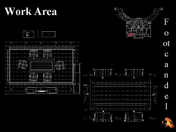 Work Area F o ot c a n d e l