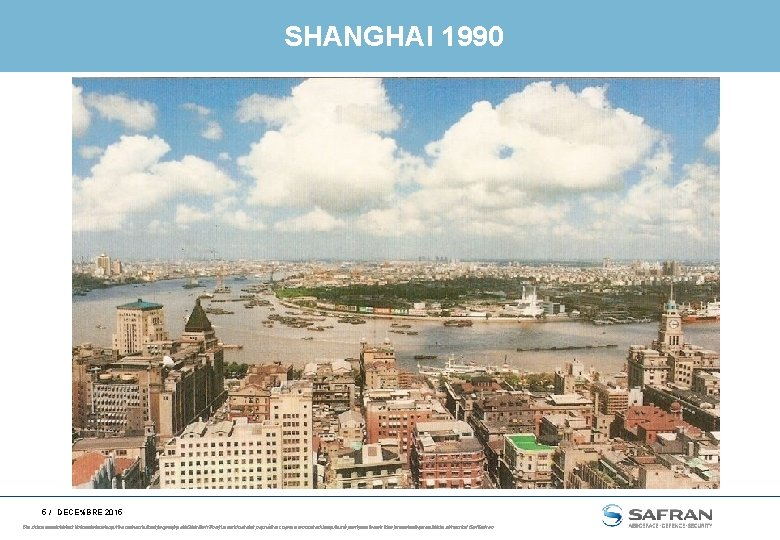 SHANGHAI 1990 5 / DECE%BRE 2015 Ce document This documentetand les the informations information