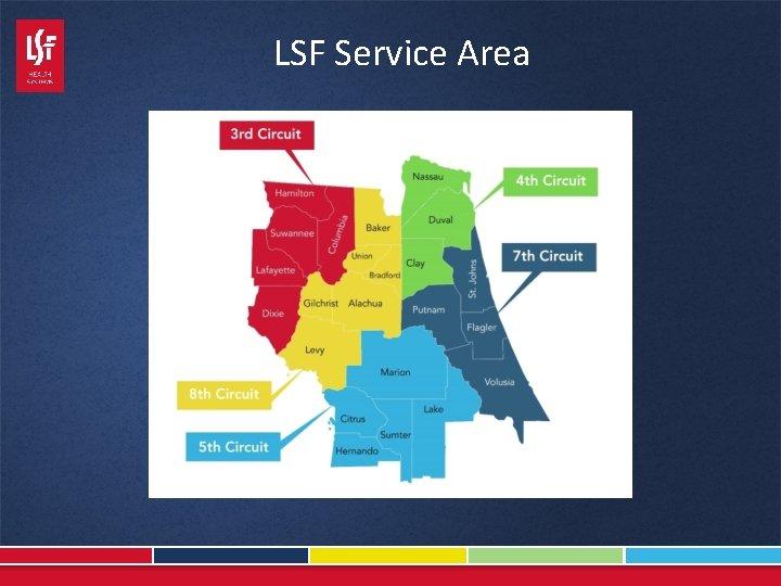 LSF Service Area