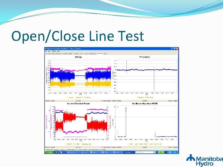 Open/Close Line Test