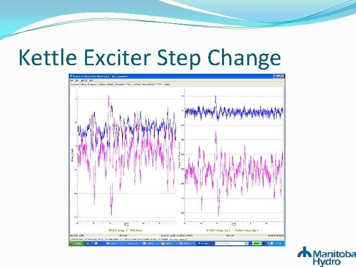 Kettle Exciter Step Change