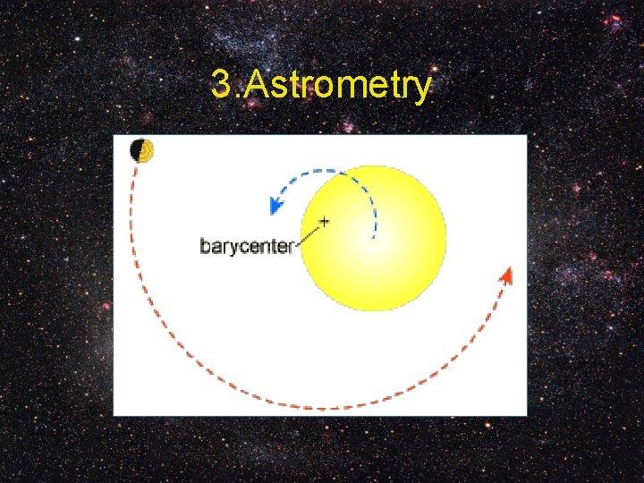 3. Astrometry