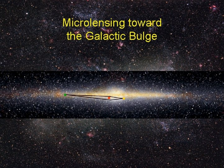 Microlensing toward the Galactic Bulge
