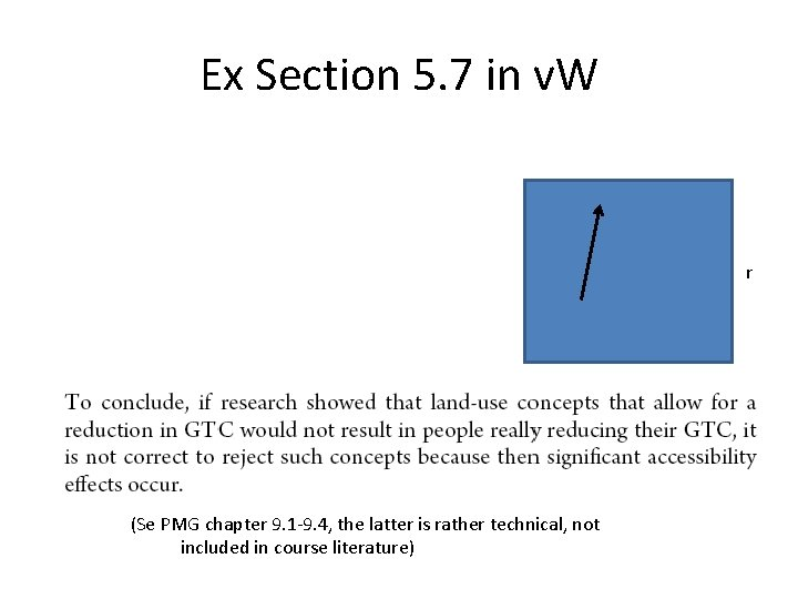 Ex Section 5. 7 in v. W r r (Se PMG chapter 9. 1