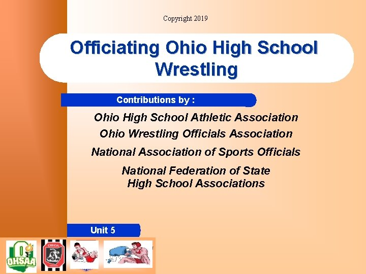 Copyright 2019 Officiating Ohio High School Wrestling Contributions by : Ohio High School Athletic